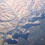 Flying over the Grand Canyon - uranium mines here, really? The Colorado River provides drinking water for up to 27million people.